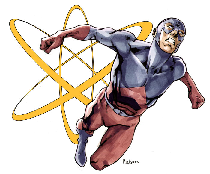The Atom Header Image by MahmudAsrar