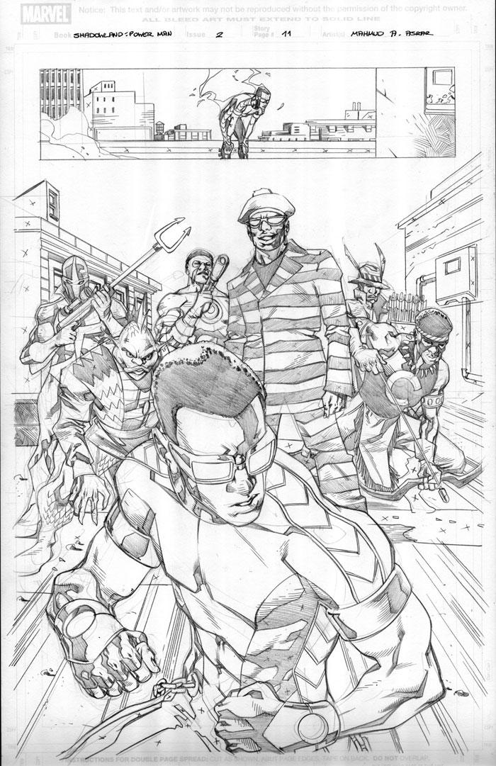Shadowland: Power Man 2 Pg11 by MahmudAsrar