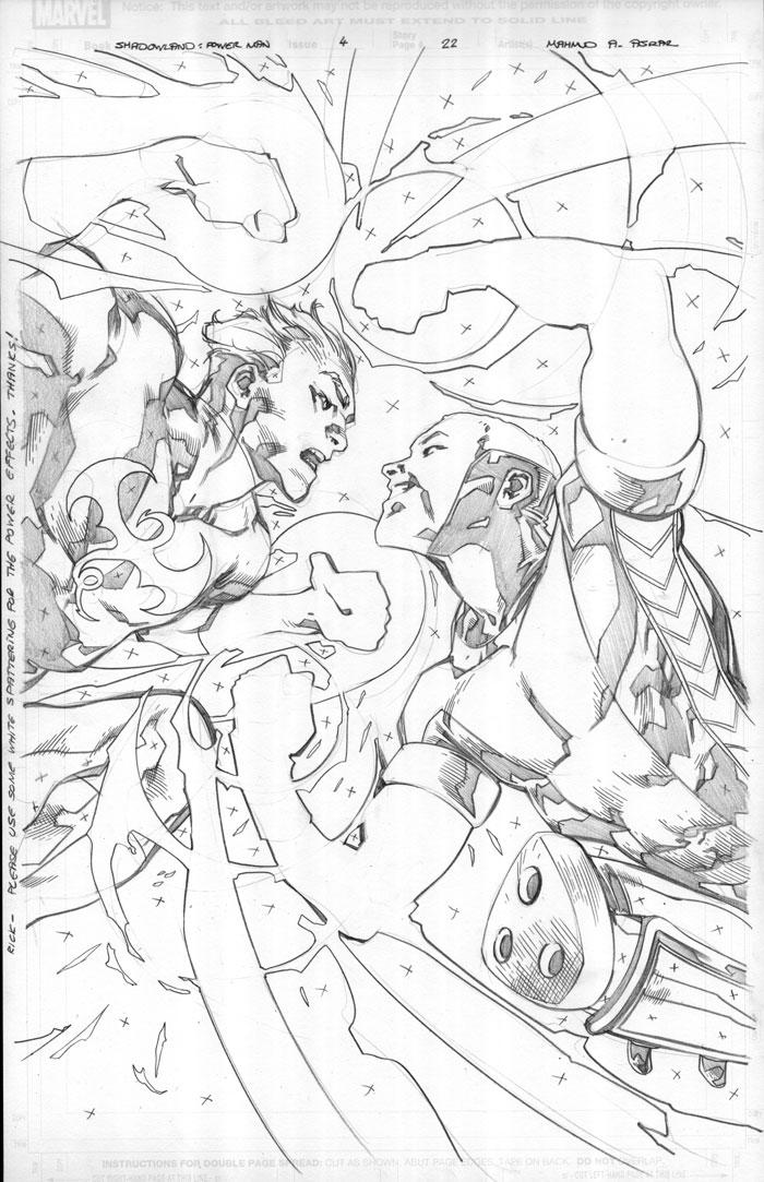 Shadowland: Power Man 4 Pg22 by MahmudAsrar