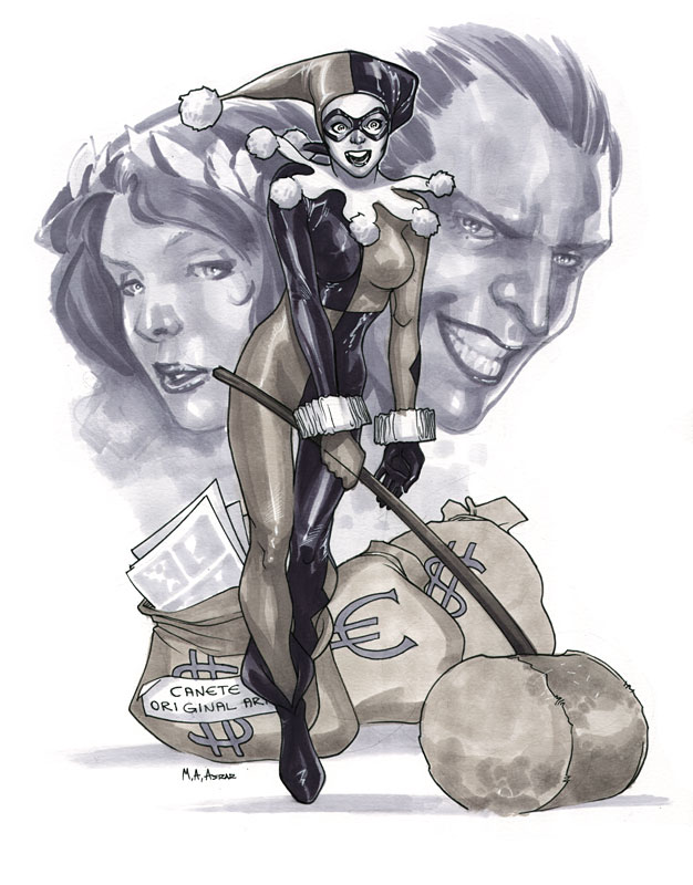 Harley Quinn by MahmudAsrar