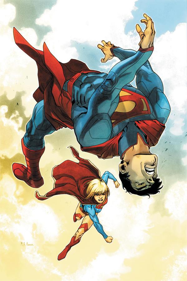 Supergirl 2 Cover by MahmudAsrar