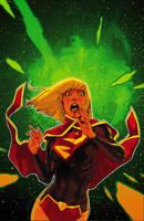 Supergirl 3 Cover by MahmudAsrar