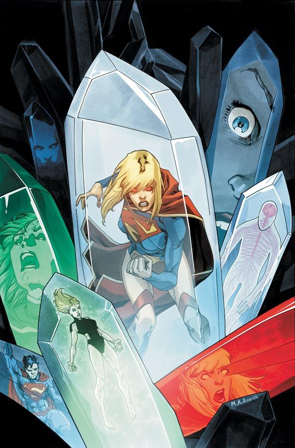 Supergirl 4 Cover by MahmudAsrar