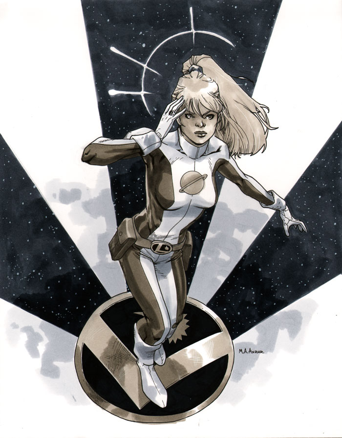 NYCC 2011 Saturn Girl by MahmudAsrar