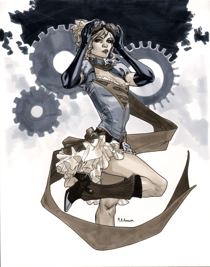NYCC 2011 Steampunk Supergirl by MahmudAsrar