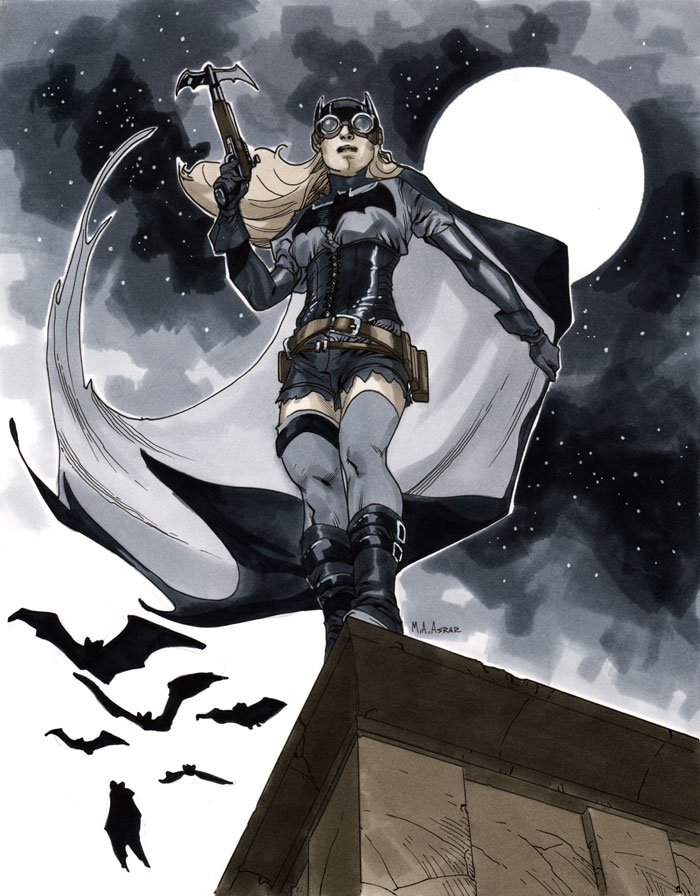 NYCC 2011 Steampunk Batgirl by MahmudAsrar