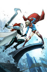 Supergirl 5 Cover by MahmudAsrar