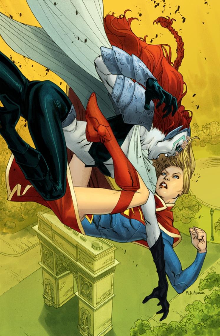 Supergirl 6 Unused Cover by MahmudAsrar