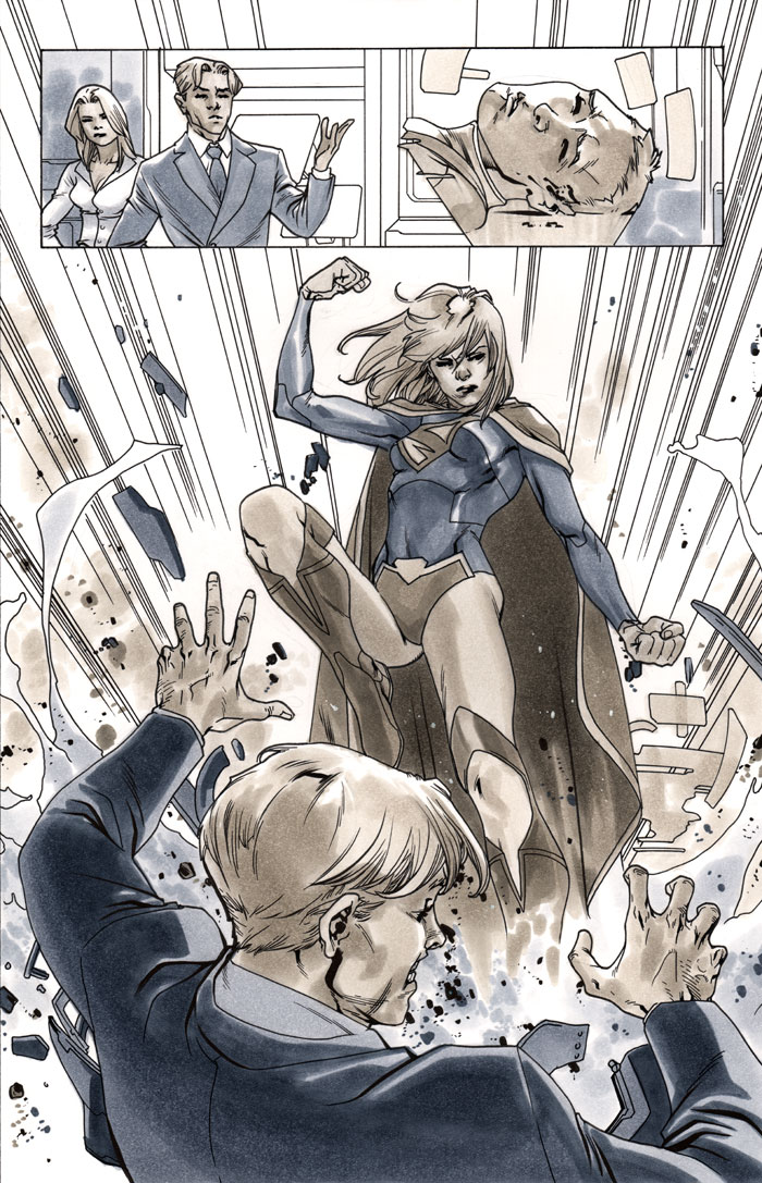 Supergirl 4 Page 11 by MahmudAsrar