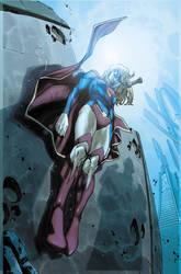 Supergirl 6 Cover by MahmudAsrar