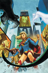 Supergirl 7 Cover by MahmudAsrar