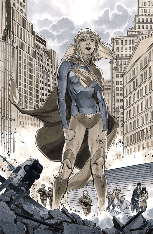 Supergirl 7 Page 20 by MahmudAsrar