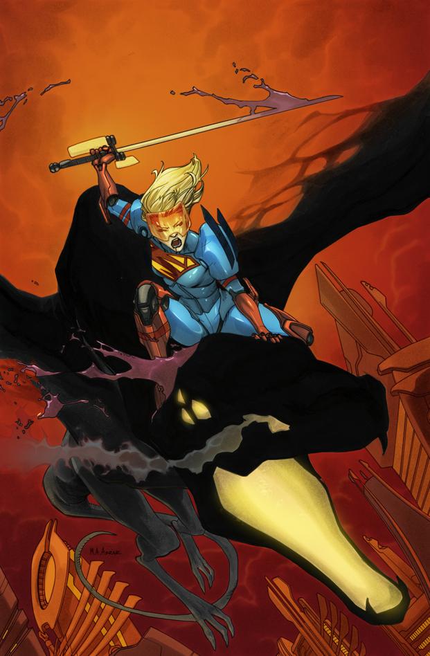 Supergirl 10 Cover by MahmudAsrar