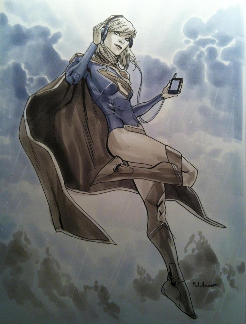 AUGSF Workshop Supergirl by MahmudAsrar
