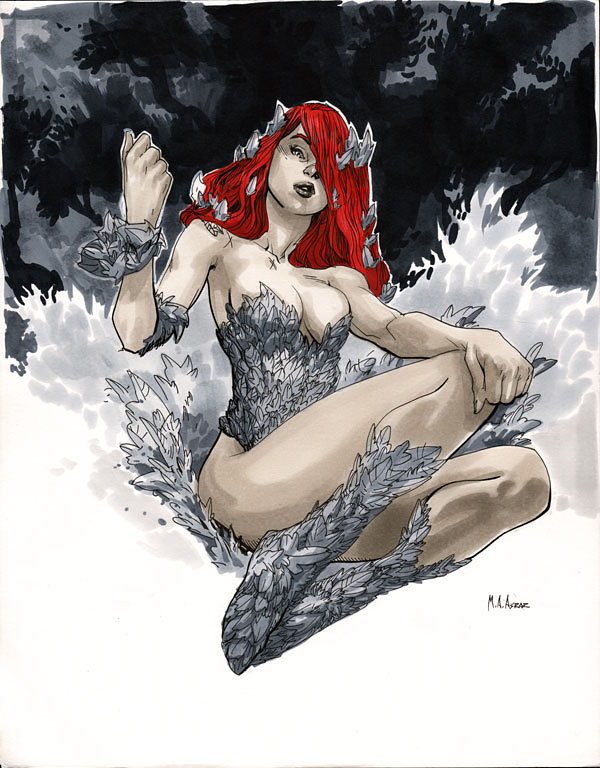 Poison Ivy - Comic Con Paris 2012 by MahmudAsrar