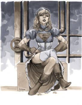 Steampunk Supergirl - Wizard World Chicago 2012