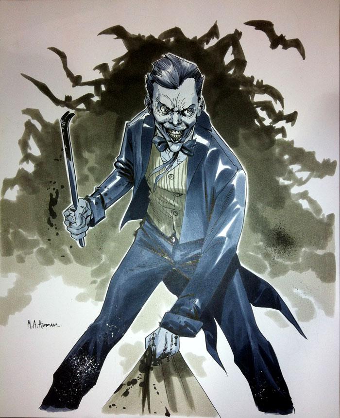 Joker - Wizard World Chicago 2012 by MahmudAsrar