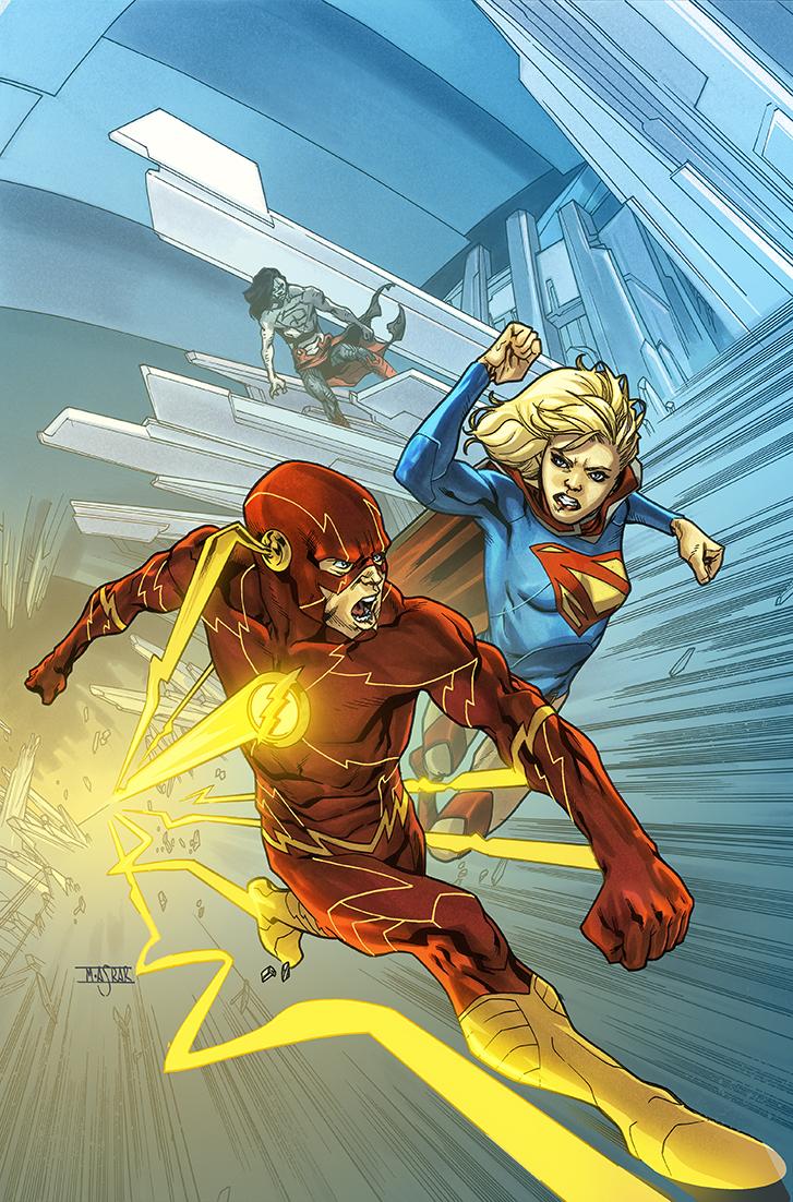 Supergirl 16 Cover by MahmudAsrar