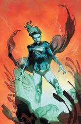 Supergirl 17 Unused Cover by MahmudAsrar