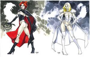 Black Queen + White Queen - NYCC 2012