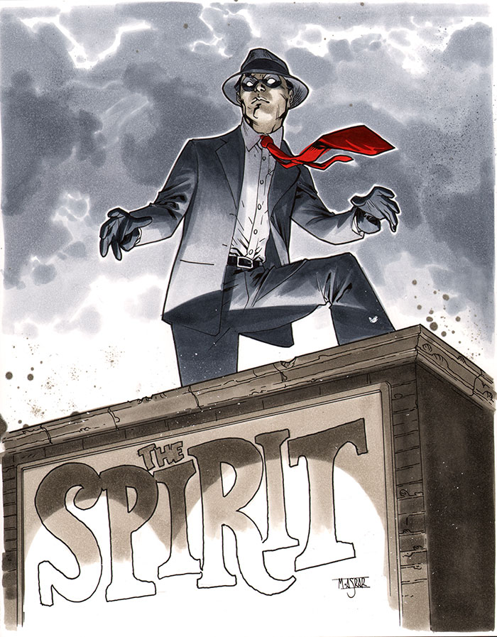The Spirit - CA Essen 2012 Pre-Show Commission by MahmudAsrar