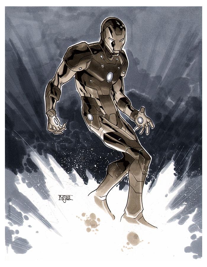 Iron Man - CA Essen 2012 Pre-Show Commission by MahmudAsrar