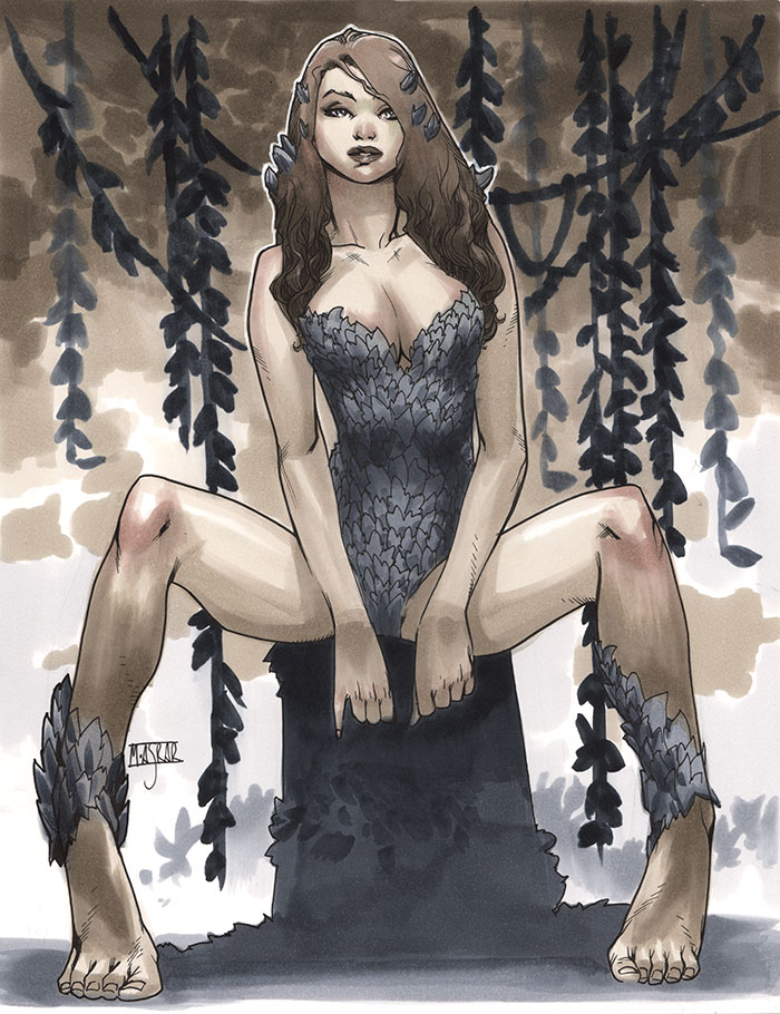 Poison Ivy - LSCC 2013 Pre-Show Commission by MahmudAsrar
