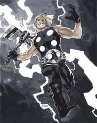 Ultimate Thor - LSCC 2013 Pre-Show Commission by MahmudAsrar