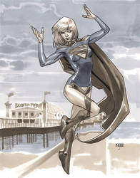 Supergirl V - LSCC 2013 Pre-Show Commission by MahmudAsrar