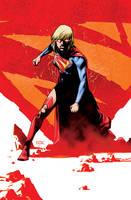 Supergirl 21 Cover by MahmudAsrar