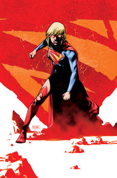Supergirl 21 Cover