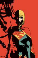 Supergirl 22 Cover by MahmudAsrar