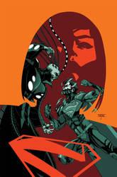 Supergirl 24 Cover by MahmudAsrar