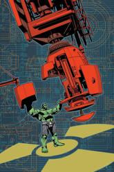 Indestructible Hulk 17 Cover by MahmudAsrar