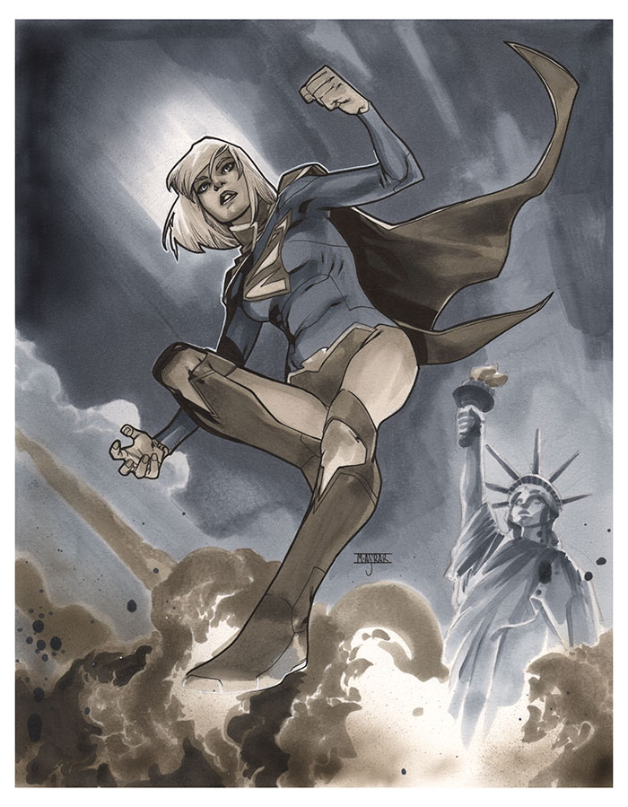 Supergirl AEP by MahmudAsrar
