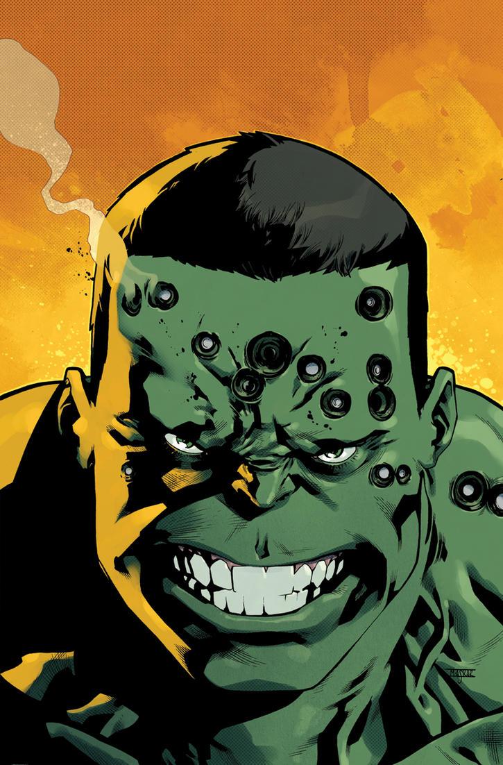 Indestructible Hulk 20 Cover by MahmudAsrar