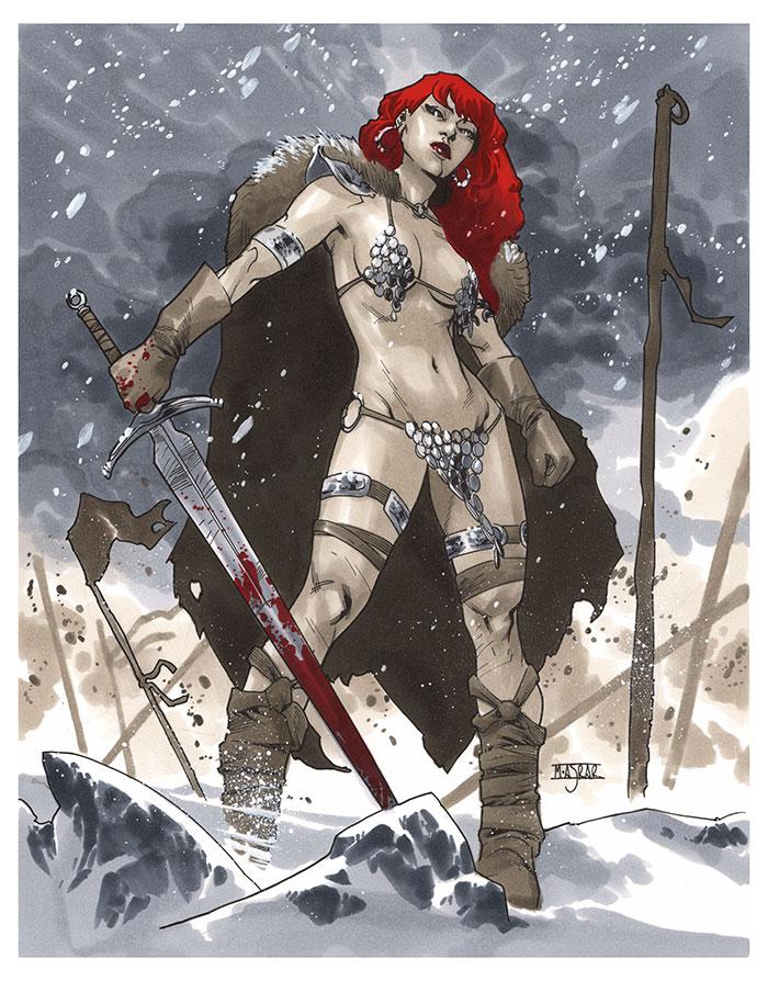 Red Sonja by MahmudAsrar