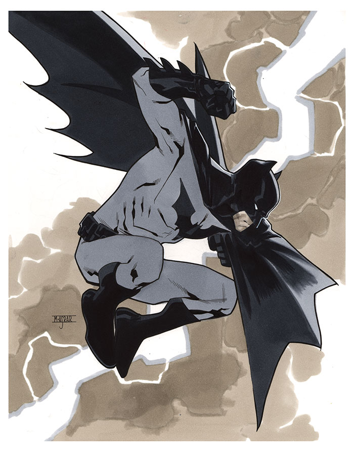 Batman - Germany Tour 2014 Pre-Show Commission by MahmudAsrar