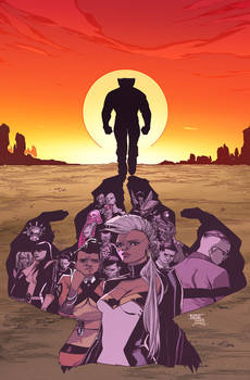 Wolverine And The X-Men 10 Cover