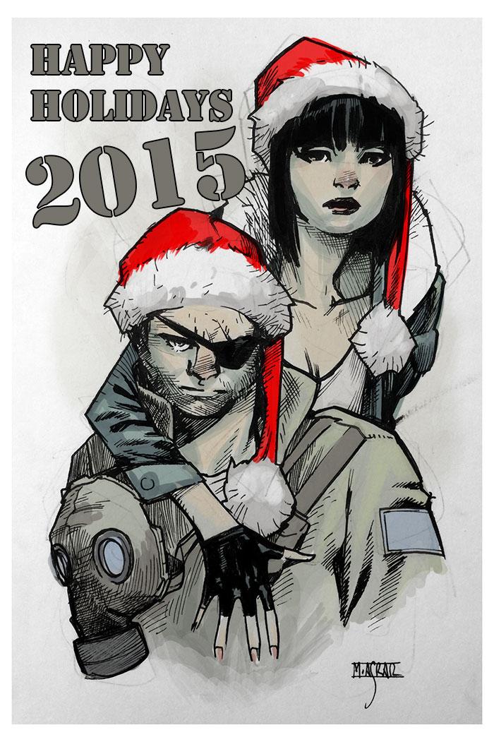 Happy Holidays 2015 by MahmudAsrar