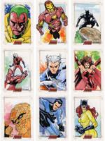 The Complete Avengers - Pt I by MahmudAsrar