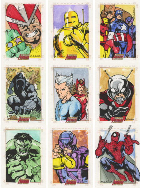 The Complete Avengers - Pt III by MahmudAsrar