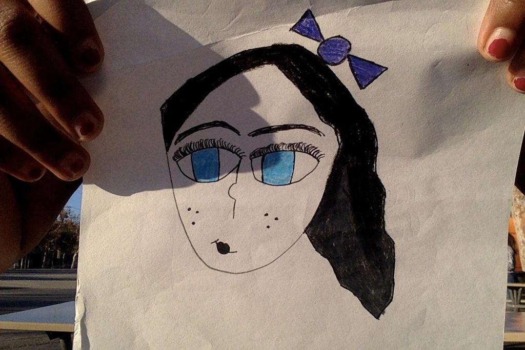 A random girl that I drew! by DerpyGinaPotatoes