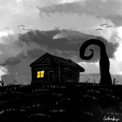 Cabin. by WonkyWarrior