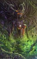Zagara Queen of Swarm by GothmarySkold