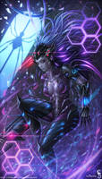 Cyborg Widow Maker by GothmarySkold