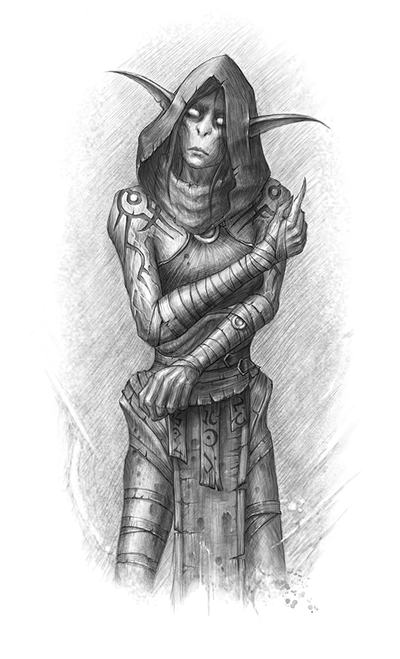 Thalyssra (Nightfallen) by GothmarySkold