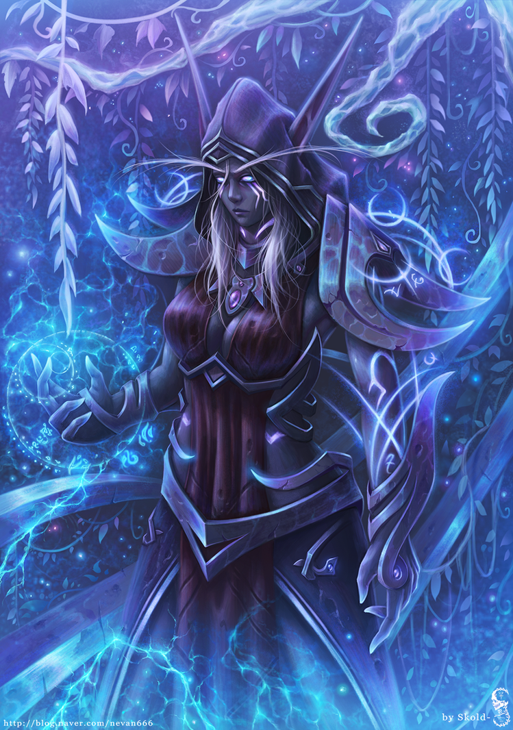 First Arcanist Thalyssra by GothmarySkold