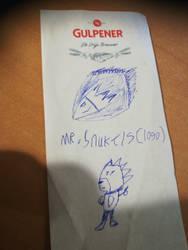 Mr.snukels logo