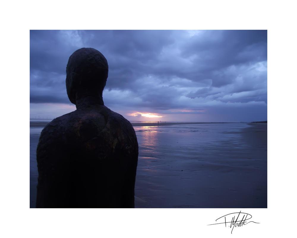 Iron man - Crosby beach 9 by Paul-Madden